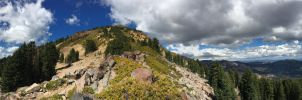 Brokehoff Mountain in Lassen Volcanic NationalPark by Laughing-Wolf