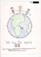 We Are The World 25 by mebemyself247