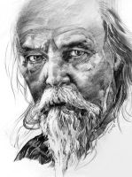 Old Man by woanling