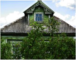 Old russian house by Angelov-net