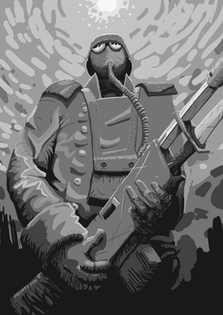 Death korps Wip 3 by i-Reptile