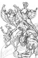 Silverhawks by WiL-Woods