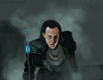 The God of Mischief by geothebio