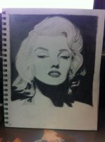 Marilyn Monroe by LauraBlackmore