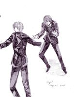 Light Yagami Reference sheet by The-Butterses