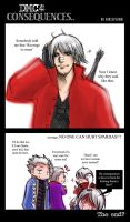 the Consequences+DMC4 by xanseviera