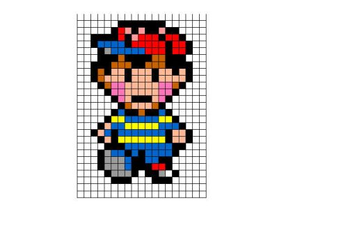 Ness sprite by songofstorms422
