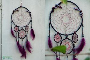 Snakes dreamcatcher by SuvetarsWell