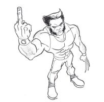 Wolverine is Rude by GavinMichelli