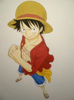 Monkey D. Luffy by Jennux3