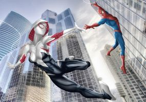 Earth 65: Edge of Spider-Verse by Darthval