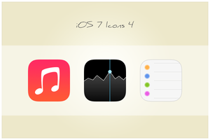 41 iOS 7 Icons 4 (freebie by pixelcave) by pixelcave