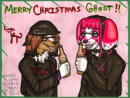Merry Christmas Ghost by silverwing