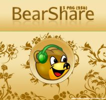 BearShare 3 Dock Icons by archnophobia