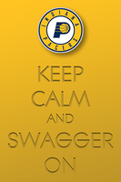 Keep Calm and Swagger On iPhone by 1madhatter