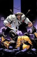 Wolverine 7 Cover by RyanStegman