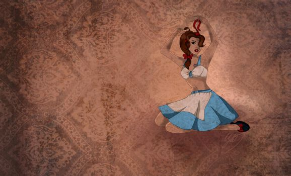 Belle Pinup by clementine-petrova