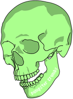 green skull id by OldGill