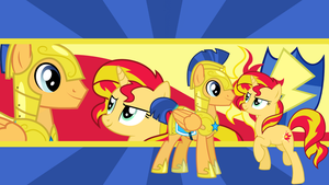 Flash Sentry x Sunset Shimmer by neodarkwing