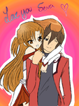 Asuna and Jaden ^.^ (Me and My BFF) by SarisChan