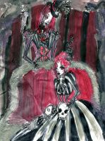 Crimson Funeral Parlor by DollyPrincess