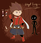 Lloyd Irving-themed custom Mocchi by Mikage-YoshinoAnerin