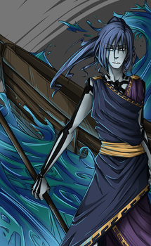 Boatman Charon by A-Catter-is-Madder