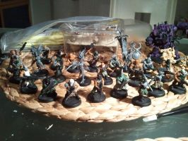 Nemesis Claws Chaos Cultists Slaanesh by skincoffin