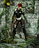 Major Maia VolKen - Jungle Commando by ExGemini