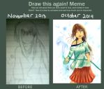 One year Improvement by white-lotus00