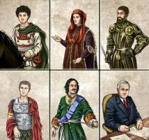 Historia DA collection - Advisors 2 by Lythilien