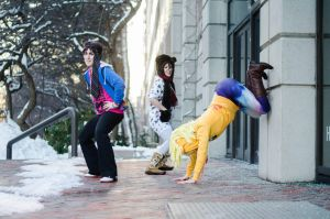 Shiganshina Twerk Team by BleachcakeCosplay