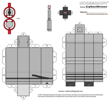 Cubee - The 4th Doctor's Sonic Screwdriver by CyberDrone