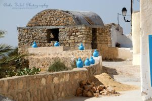 Tunis - Blue Vase by ZabelPhotography