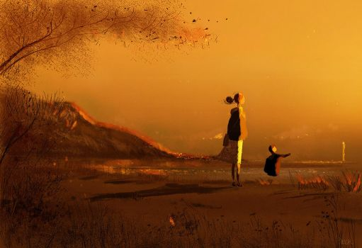 The Long Shadows. by PascalCampion