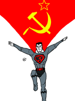 DSC 2012-05-23 Red Son Superman by theEyZmaster