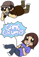 Game Grumps Fanart by MagicaKumi