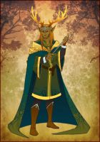 Deer king by Katerinich