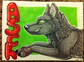 Pay what you want marker badge commission Asch by nightspiritwing