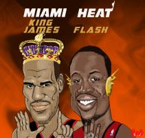 Miami Heat by guyman80