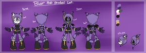 -Blair the Shadow cat-Refference sheet- by BlazingKitsuneElla