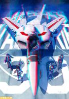 Macross  warriors - Anaglyph by Hernanarce