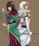 The Queen and the Maiden - Ysa by SweetYuya