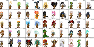 55 Character Races by calcol28