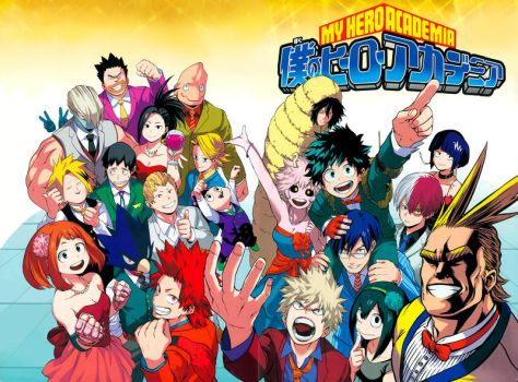 Boku no Hero Academia 52 Complete Color Redraw by IRSTs