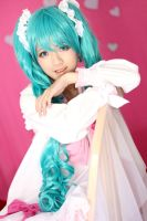 Hatsune Miku Lots of Laugh Cosplay by Lycorisa