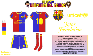 Barcelona FC kit :Contest entry: by MundienaDog