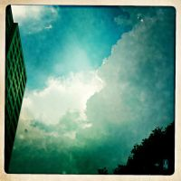 head in clouds 2 by LEQUARK