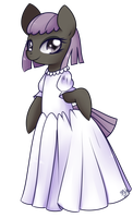 Wedding Dress - Black Snooty by Bukoya-Star