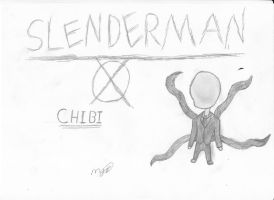 Slenderman Chibi (Full Picture) by mikhell1